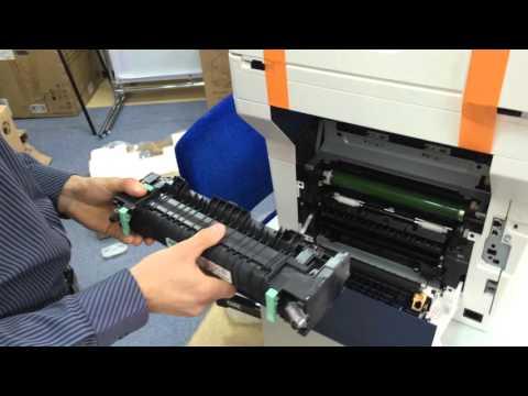 Замена термоблока Xerox 3615