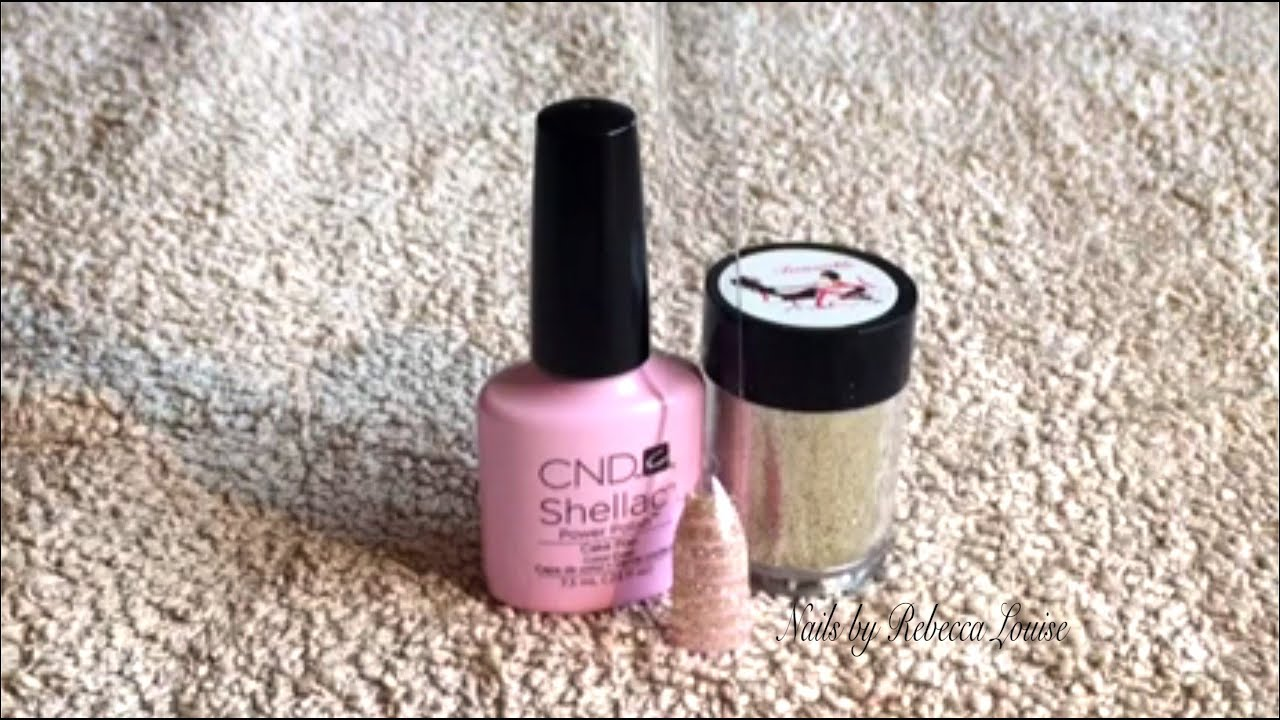 Cnd shellac lecente glitter stripe nail art tutorial youtube prinsesfo Images