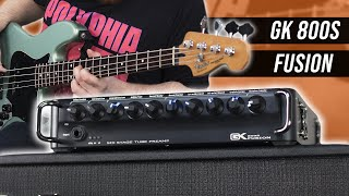 Punchy & Thick Bass Tones! - Gallien-Krueger Fusion 800S [Demo]