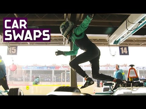 End Of An Era! Top 5 Car Swap Moments In Formula E | ABB FIA Formula E Championship