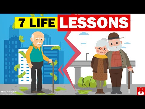 7 Life Lessons you should learn today! (Don't be late to learn these 😮)