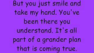 God Bless the Broken Road - Rascal Flatts Acustic version *Lyrics on Screen* Video