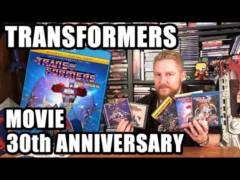THE TRANSFORMERS THE MOVIE 30th Anniversary Blu Ray Review