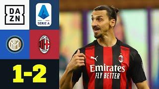 Doppelter Zlatan im Mailand Derby: Inter Mailand - AC Mailand 1:2 | Serie A | DAZN