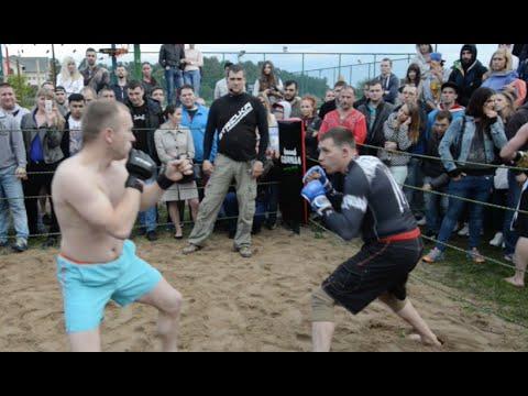 Мурманск против Кузнеца,  Зверский бой, разница в 10кг.