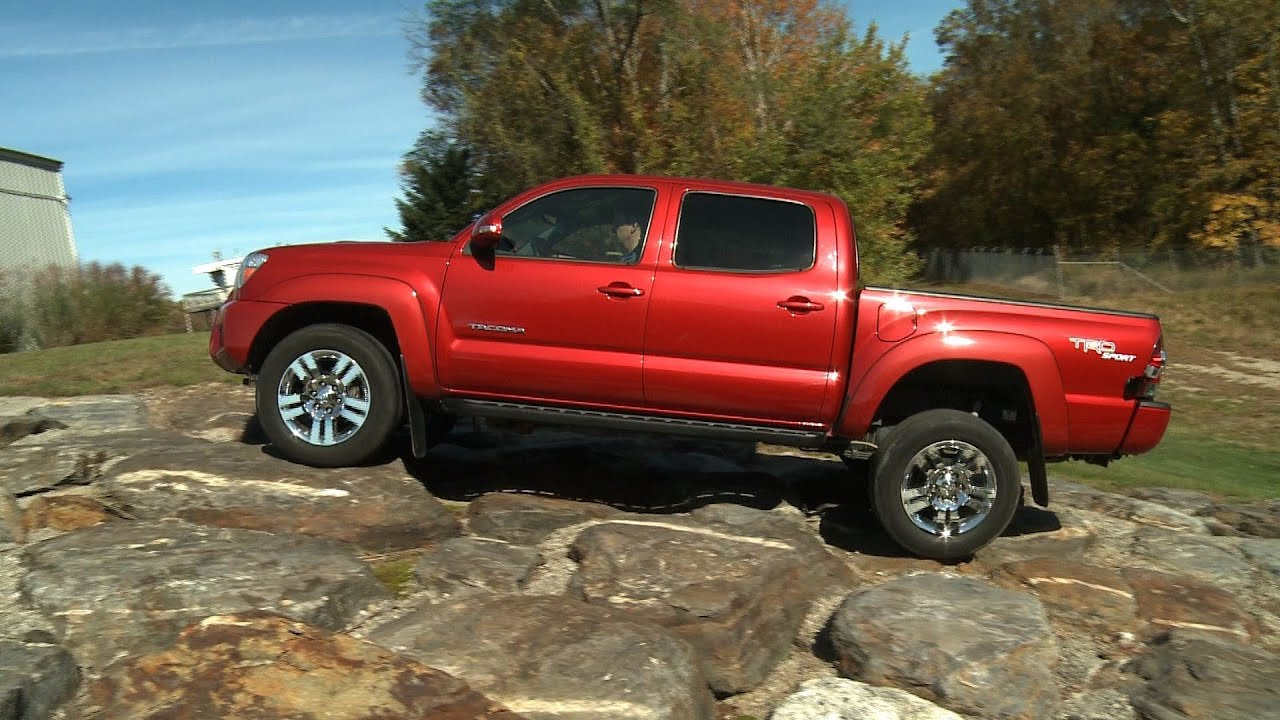 2005 2014 toyota tacoma quick take consumer reports youtube. Black Bedroom Furniture Sets. Home Design Ideas