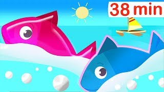 12345 Once I Caught a Fish Alive Numbers Song | English Nursery Rhymes for Babies & Kids Compilation