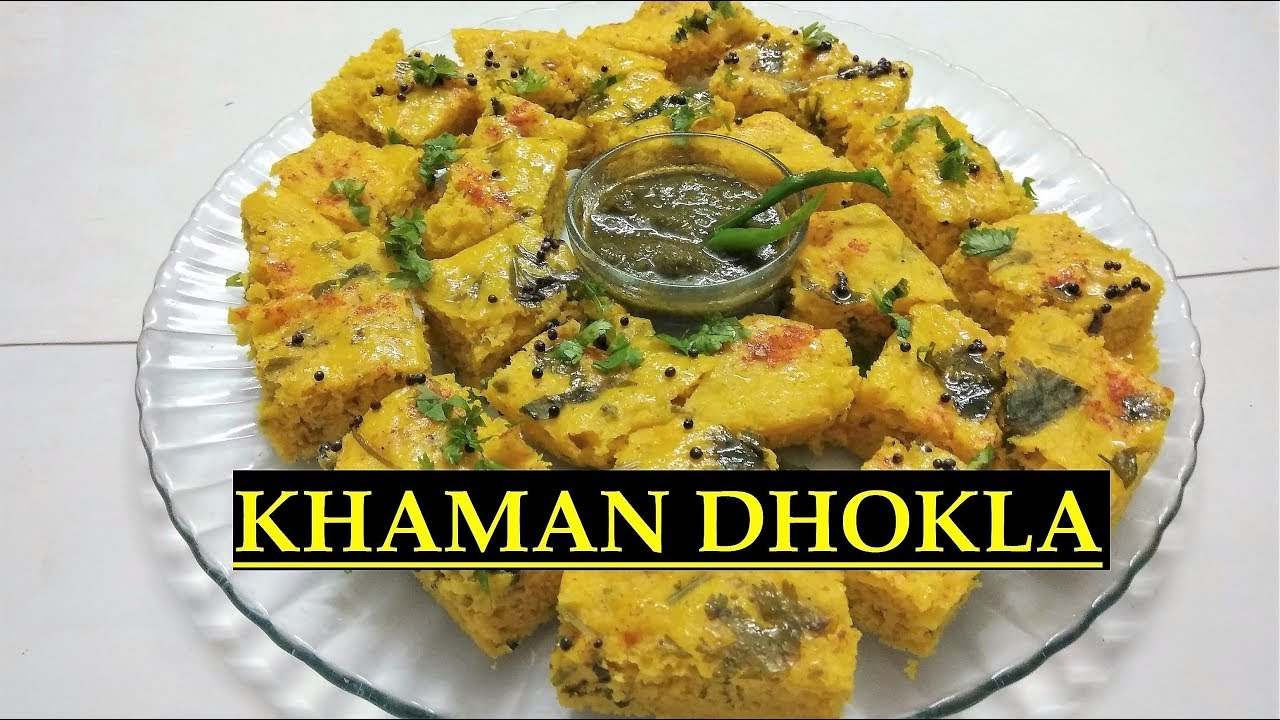 Gujarati khaman dhokla recipe how to make soft and spongy dhokla gujarati khaman dhokla recipe how to make soft and spongy dhokla besan dhokla indian snack forumfinder Image collections