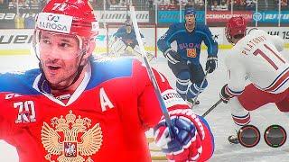 КОВАЛЬЧУК ВЕРНУЛСЯ В СБОРНУЮ РОССИИ МОЛОДЕЖКА НА ЧМ 1 4 ФИНАЛА РОССИЯ VS ФИНЛЯНДИЯ NHL 20