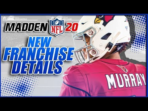 Madden 20 Franchise New Details! - Vloggest