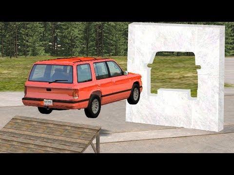 Beamng drive - Impossible Car Stunts