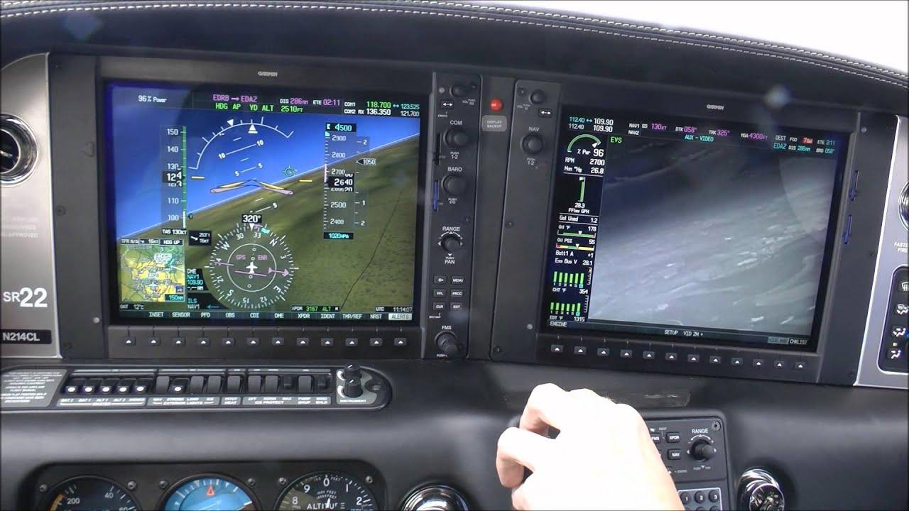 Probeflug mit einer Cirrus SR22 GTS - Full HD Video