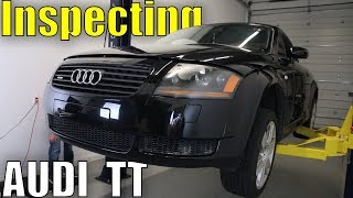 How to Check an Audi TT Quattro for Problems