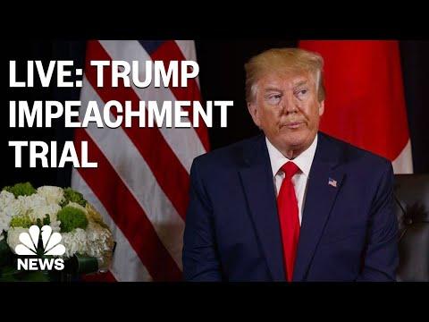 Download Senate Impeachment Trial Of President Trump - Day 9 | NBC News (Live Stream Recording)