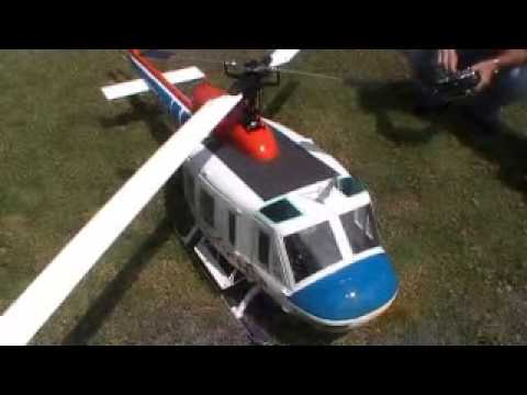 how to start a huey helicopter
