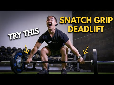 How To Do A Snatch Grip Deadlift With Eugene Teo