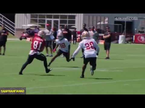 49ers Training Camp Highlights Day 2 | 2017 NFL Training Camp Highlights
