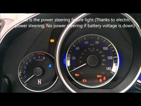 Issue No 1 Dead Battery 2015 Honda Fit Youtube