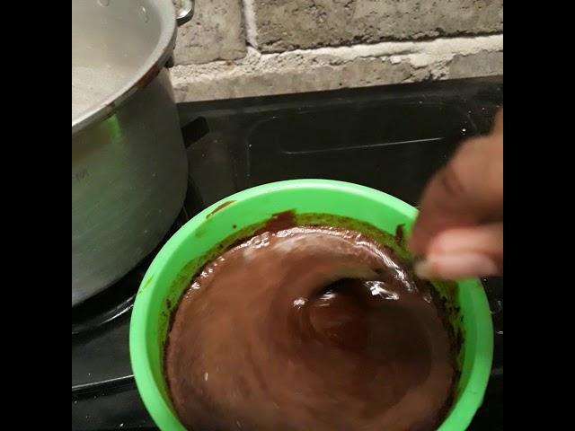 Cara bikin coklat es kul-kul - YouTube
