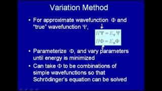 Variation method