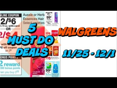5 MUST DO WALGREENS DEALS | FREE TOOTHPASTE & HAIR CARE!