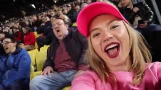 Ralu Calatoreste - FC Barcelona - Olympique Lyon Champions League - prima oara pe Camp Nou