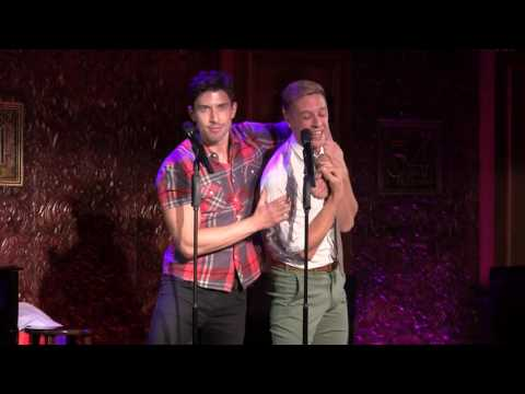 Jason Michael Snow & Nick Adams - 'Gaston' (Broadway Villains Party)