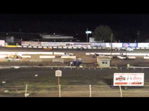 10/04/14 Santa Maria Speedway #48 Mini Stock Shootout