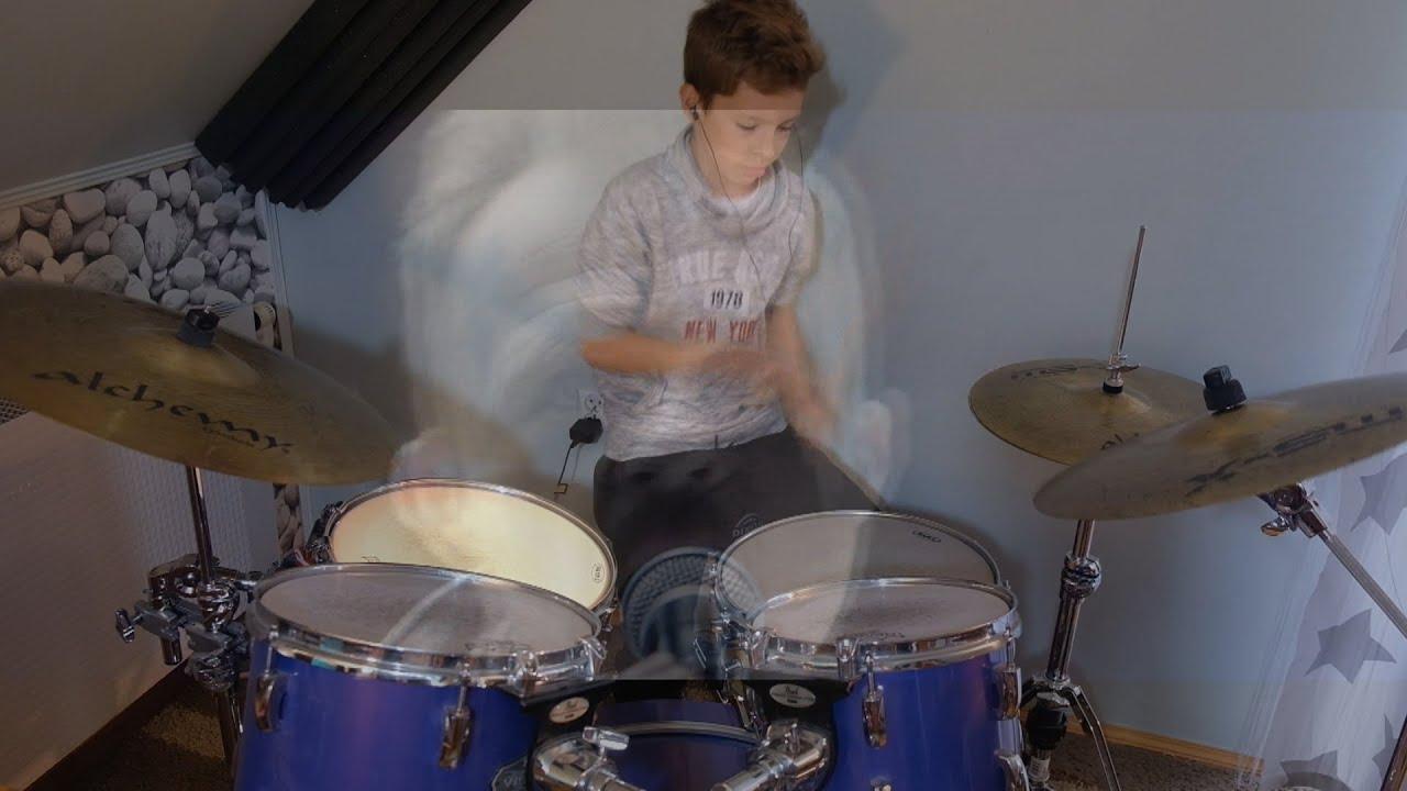 meskie granie orkiestra 2017 - NIEBOSKŁON(drum cover by Maciek)