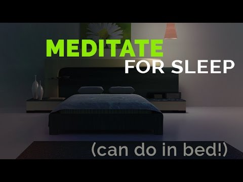 Meditate for Sleep: Deep Breathing & Relaxation Techniques