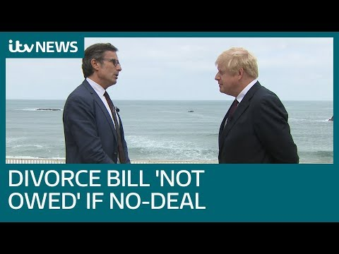 In full: Boris Johnson on Brexit, Prince Andrew and his early morning Atlantic swim | ITV News