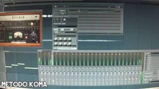 FL STUDIO - VOCAL MIDI OUT PITCHER - METODO KOMA