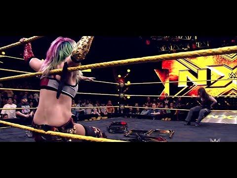 Asuka vs Nikki Cross - Last Woman Standing Match Highlights