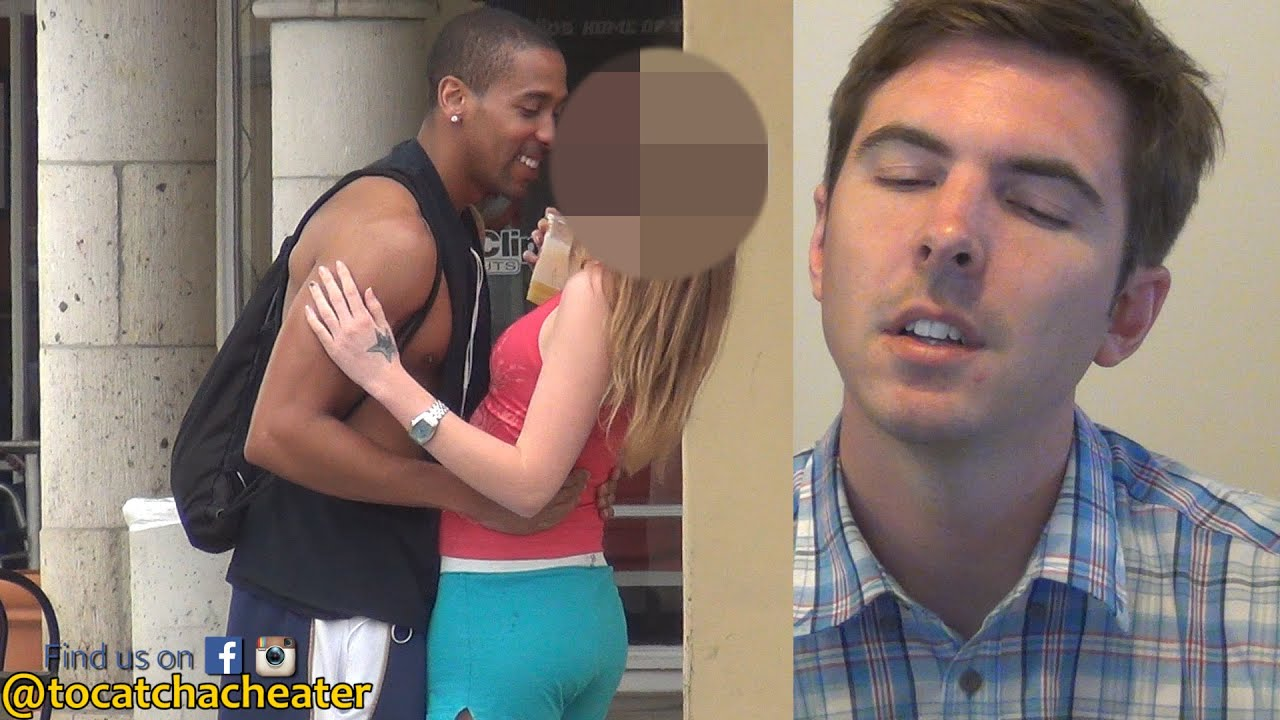 White wife cheating with black