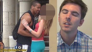 Guy's Reaction To His Girlfriend Caught Cheating Is A Bit Heartbreaking To See