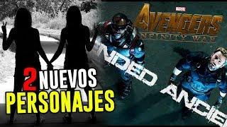 ¡Dos nuevos personajes en Avengers: INFINITY WAR!