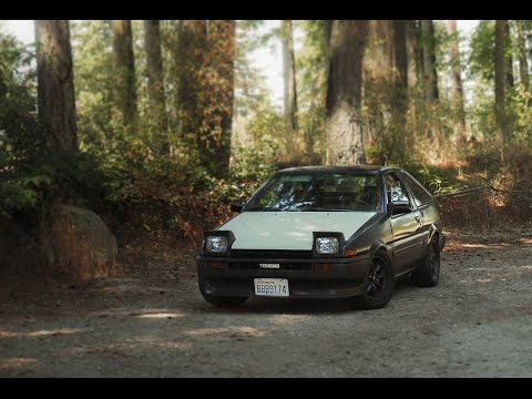 DJ BUYS A SUPER CLEAN AE86 HATCH