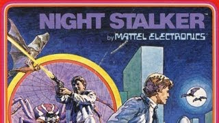 Classic Game Room - NIGHT STALKER review for IntelliVision