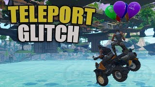 *NEW* Teleport Across The Map Glitch In Fortnite | Teleport Under Map PS4/XBOX/PC