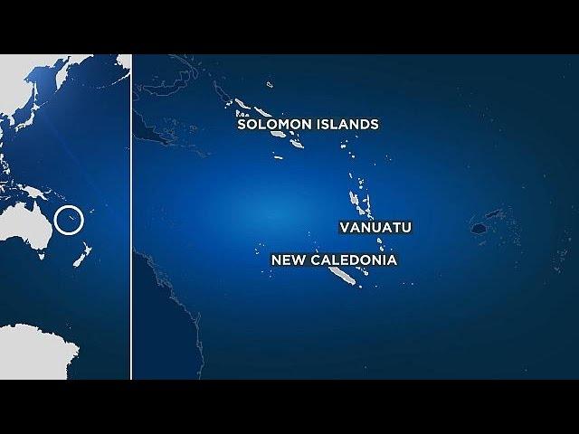 Сильное землетрясение магнитудой 7,7 произошло у берегов Соломоновых Островов