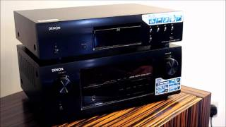 denon AV Receiver and Denon DBT-1713 Blu-Ray Transport Review Video