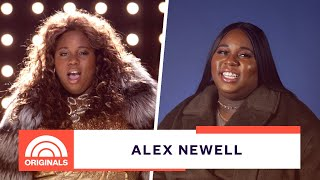 'Glee' Star Alex Newell Shares Favorite Moments as Wade 'Unique' Adams   TODAY Originals YouTube Videos