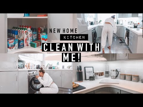SPEED CLEAN WITH ME! EXTREMELY MESSY BEFORE & AFTER · NEW HOME | Emily Diane Philpott