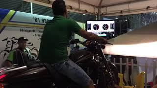 Harley monstra no dinomometro!!