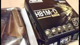 aSUS H81-D Plus Motherboard Unboxing & Review