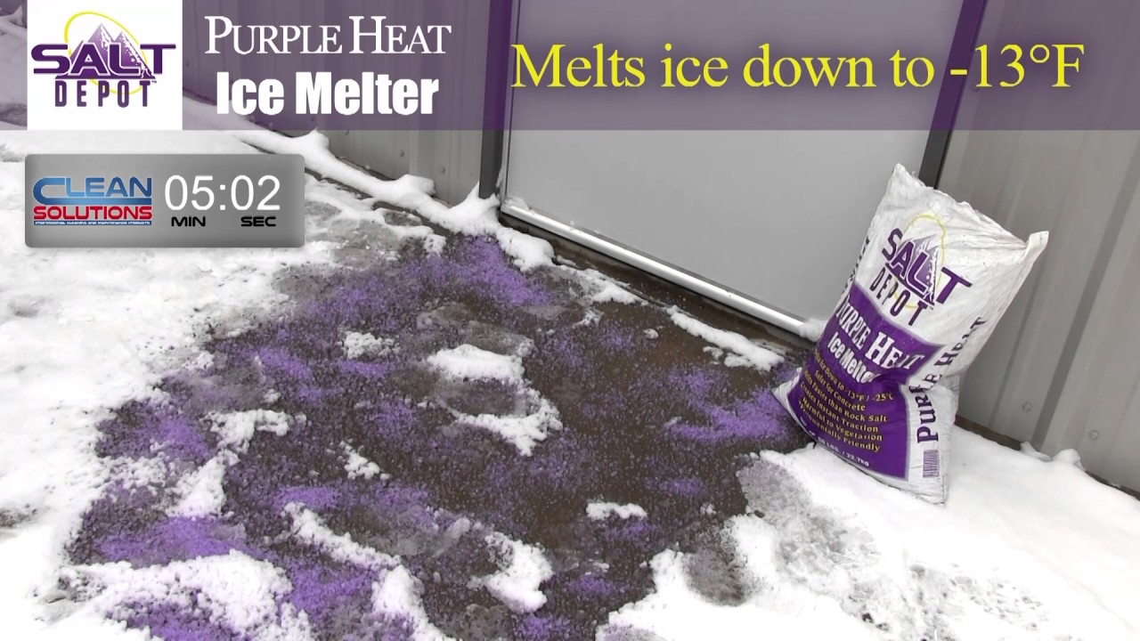 Purple Heat Ice Melt Youtube
