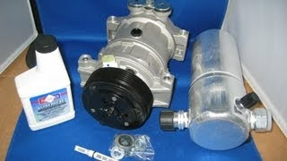 96 05 chevy astro 4 3 auto ac compressor air conditioning part kit
