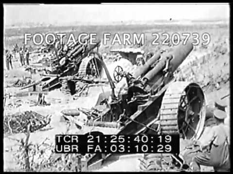 WWI - Retreat Of The Germans At The Battle Of Arras 220739-02   Footage Farm