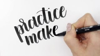 Satisfying Hand Lettering Calligraphy Compilation | Hannah Weir