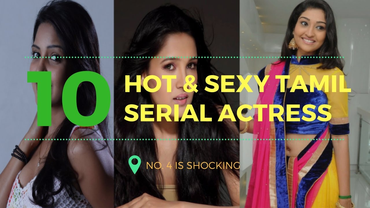 Top 10 Hot, Beautiful  Sexy Tamil Serial Actress - No 4 -2033